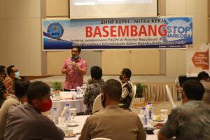 BNN Provinsi Kepulauan Riau melaksanakan Rapat Koordinasi Kelembagaan di Harris Hotel Batam Center