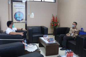 Kunjungan Bidang Kemahasiswaan Univeristas Putera Batam ke BNNP KEPRI