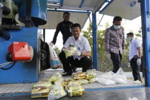 Pemusnahan Barang Bukti Narkotika Jenis Sabu 27 Kg
