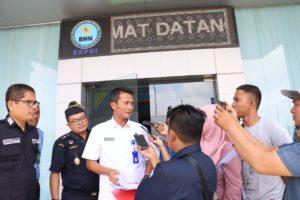 Pemusnahan Barang Bukti Narkotika Jenis Sabu Seberat 1 Kg Badan Narkotika Nasional Provinsi Kepulauan Riau