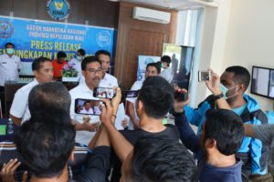 Press Release Pengungkapan Kasus Narkotika