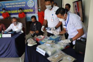Pemusnahan Barang Bukti Narkotika Badan Narkotika Nasional Provinsi Kepulauan Riau