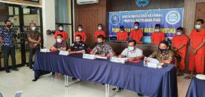 Acara Pemusnahan Barang Bukti 5 Kg Narkotika Jenis Sabu di BNNP kepri.
