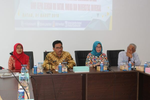 Kegiatan: Penandatangan MoU & Perjanjian Kerja Sama antara BNNP Kepri dengan RRI Batam, Universitas Riau Kepulauan dan Universitas Universal