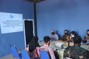 Monitoring dan Evaluasi TW 3 Tahun 2020 oleh BNNP KEPRI ke BNN Kabupaten Karimun