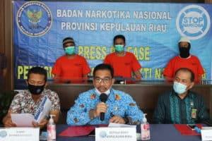 Pemusnahan Barang Bukti Narkotika Jenis Sabu seberat 3,9 Kg di BNNP kepri