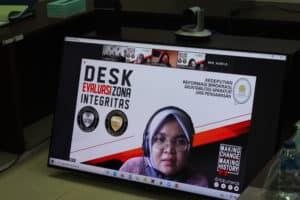 Pelaksanaan Desk Evaluasi Zona Integritas bagi BNNP KEPRI