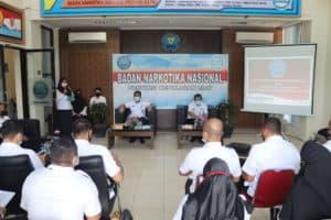 Sosialisasi Sistem Pengendalian Internal Pemerintah dan Manajemen Resiko oleh Inspektur Wilayah 3 BNN RI