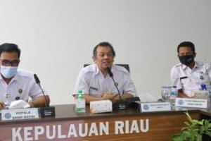 Taklimat Akhir Pemeriksaan Atas Laporan Keuangan BNNP KEPRI dan Jajaran