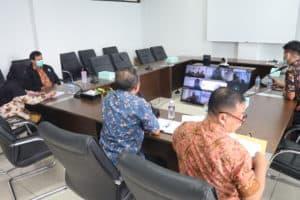 Friday Sharing dalam rangka Q&A Mengenai Pembinaan Jabatan Fungsional di lingkungan Badan Narkotika Nasional Provinsi Kepulauan Riau bersama Biro Kepegawaian BNN RI